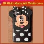 huawei y6s mobile cover for girls 3d rubber micky mouse soft phone cases 2