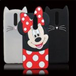 huawei y6s mobile cover for girls 3d rubber micky mouse soft phone cases
