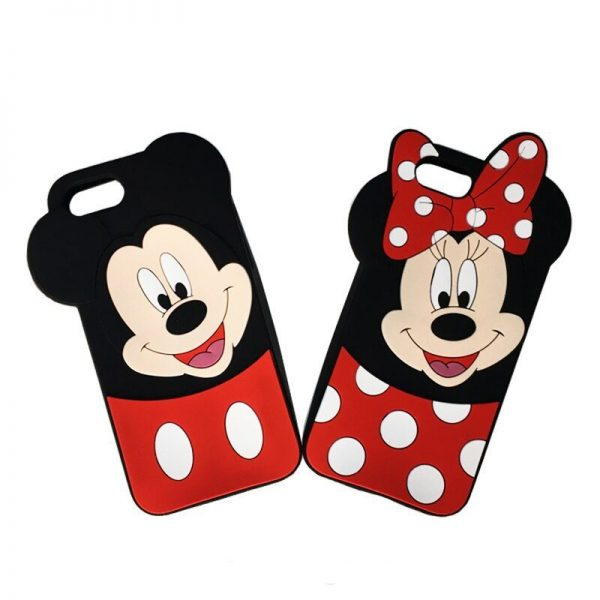 Samsung J5 Mobile Cover For Girls - 3D Rubber Micky Mouse Soft phone cases
