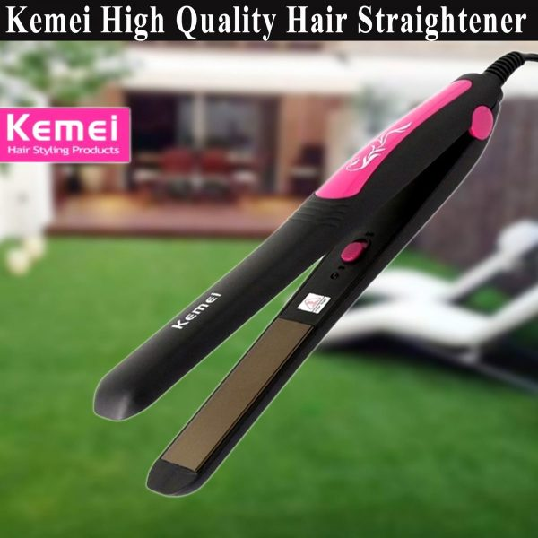 High Quality Kemei KM-328 Professional Hair Straighteners & Flat Hair Iron - Best Hair Accessories
