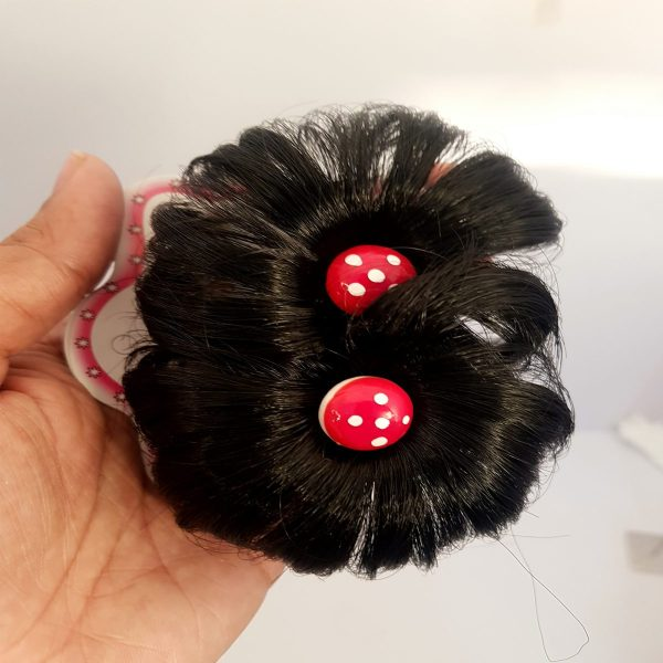 Pack Of 2 Black Stylish Best Shining Hair Clips - JC80-A060