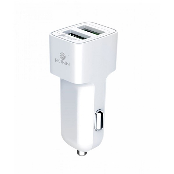 Orignal Ronin 2.4A Auto ID Car Charger For Android R411-3Q25C