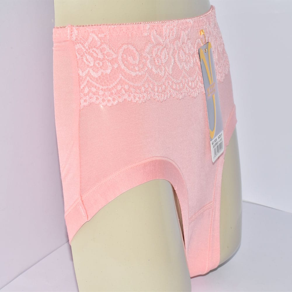 Best Selling Underwear Cotton Brief Lace Panties BR36-Y1O00