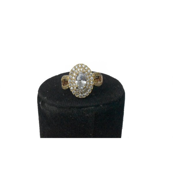 Beautiful Oval Style Shinning Ring For Girls & Women JR115 - V12A0