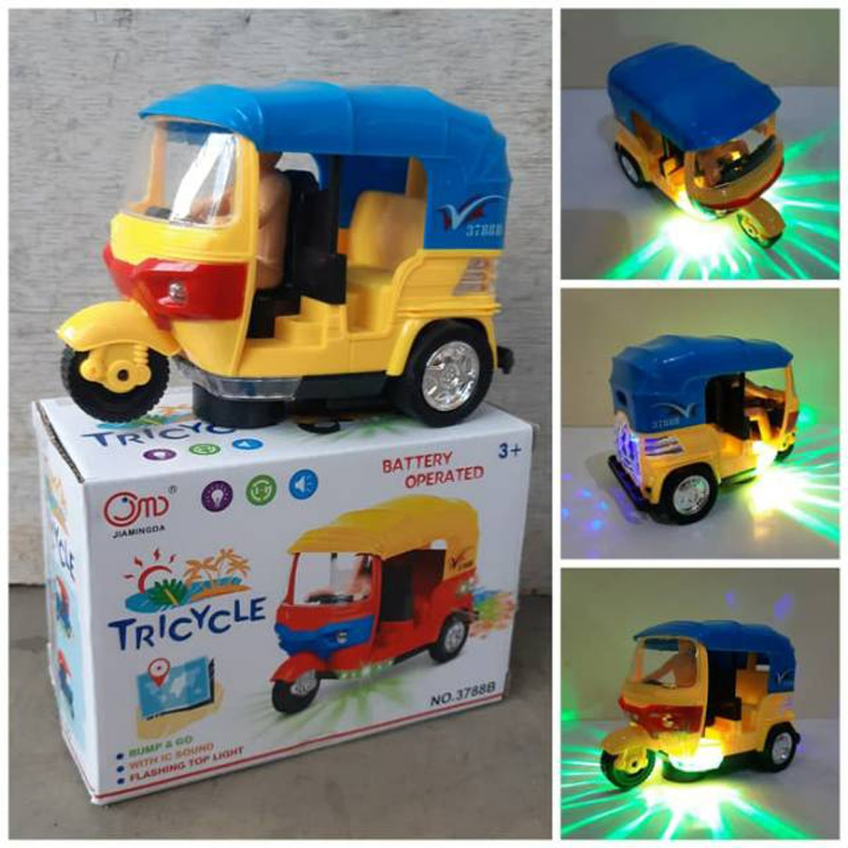 Kids Battery Operated Tricycle - VB325