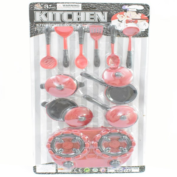 Big Kitchen Cook Set For Kids Pretend Play Toy 2742-SA130