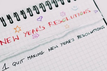 New Year's Resolution list 2020