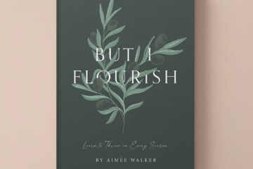 "Cover of the book ""But I Flourish"" by Aimée Walker"