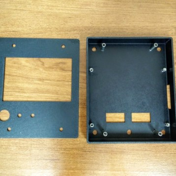 taz lcd enclosure box