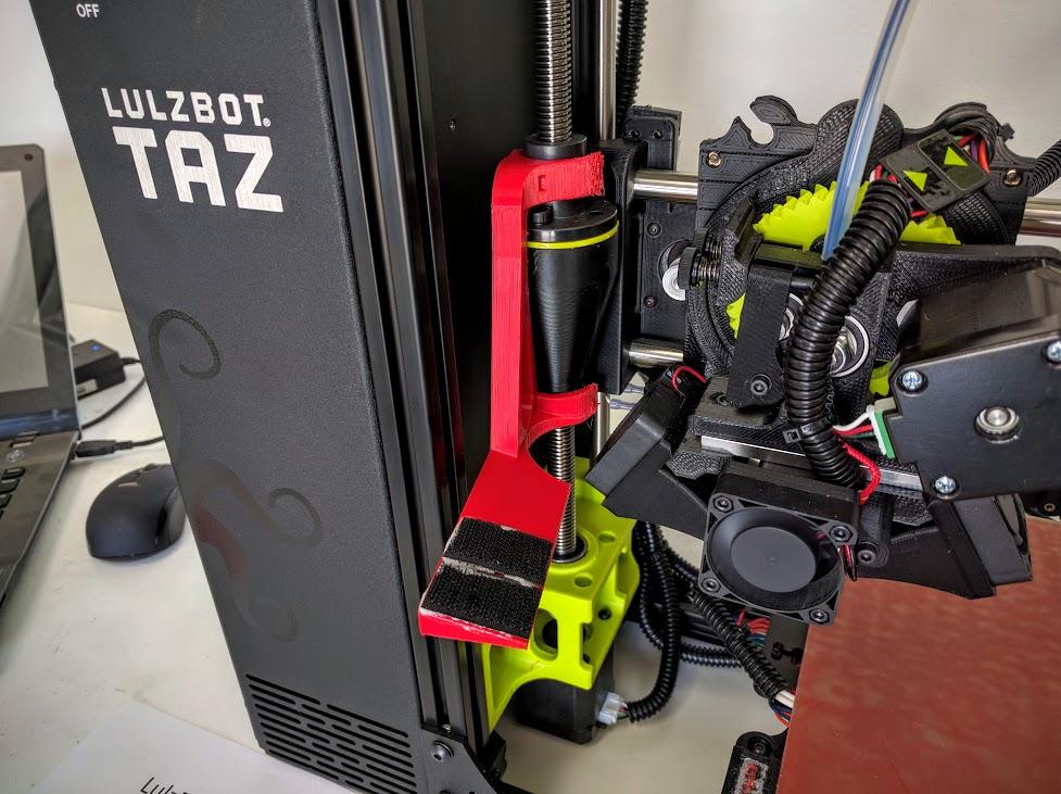 LulzBot TAZ 6 Z axis camera mount