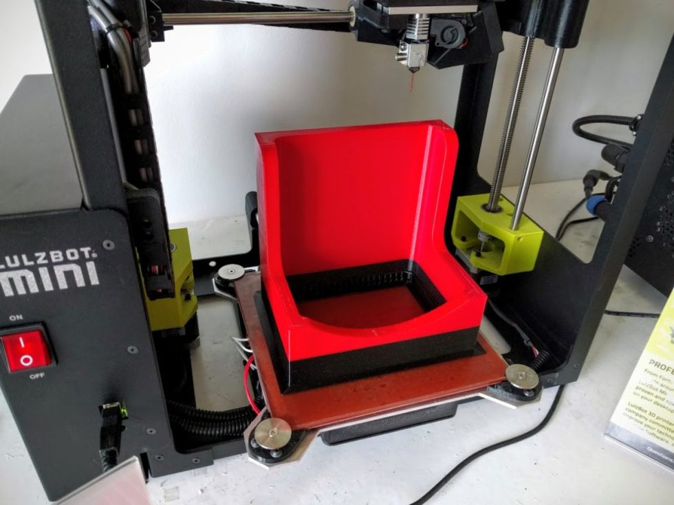 Finished shaper dust collector shroud 3d print