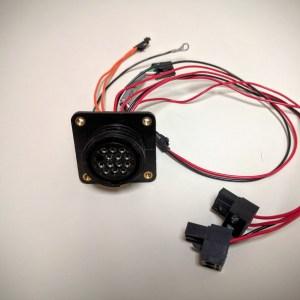 lulzbot taz 4 5 internal extruder wiring harness