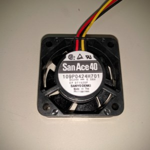 sanyo denki 109P0424H701 40mm 24v fan