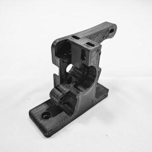 Extruder Body Hexagon PP-GP0186 front
