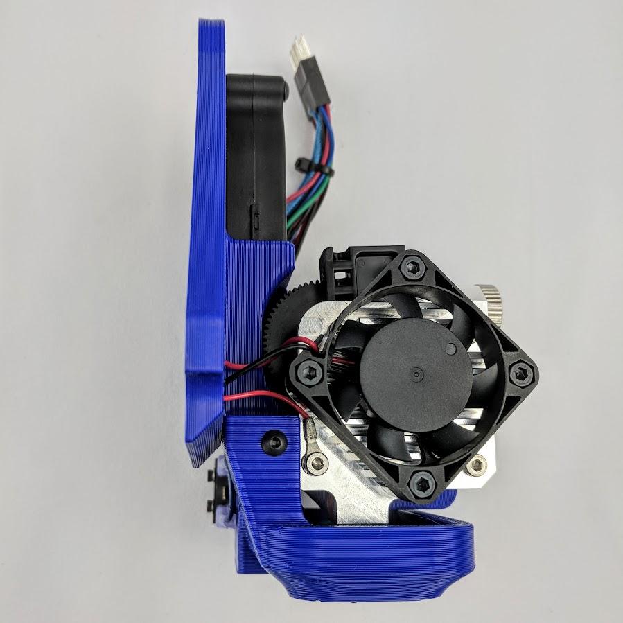 E3D Titan Aero toolhead for Lulzbot TAZ