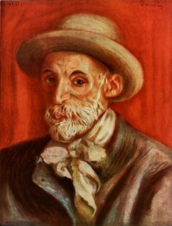 Renoir Self Portrait [1910]