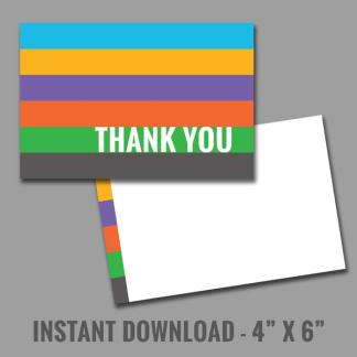 rodan and fields instant download printable thank you card