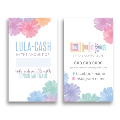 lularoe cash card