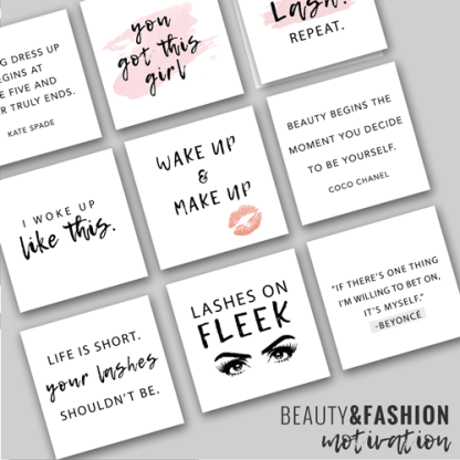 social media quotes for beauty and fashion industry bloggers