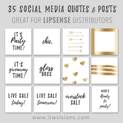 lipsense social media pack, lipsense social media and blog graphics