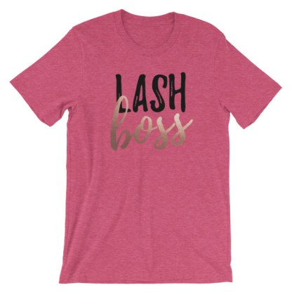 lash boss shirt, rodan and fields business, rodan and fields lash boost, business launch event shirt, rf swag