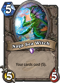 Hearthstone Naga Sea Witch