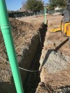 Progress on the sewer line means construction should start in earnest in March.