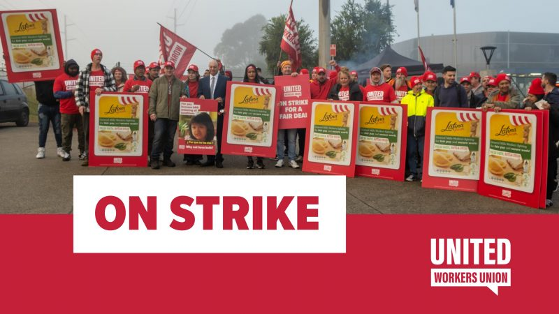 Essential food workers at General Mills strike for decent pay, secure jobs