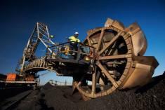 Povrchová těžba energetického uhlí v Jihoafrické republice - Klipspruit Colliery