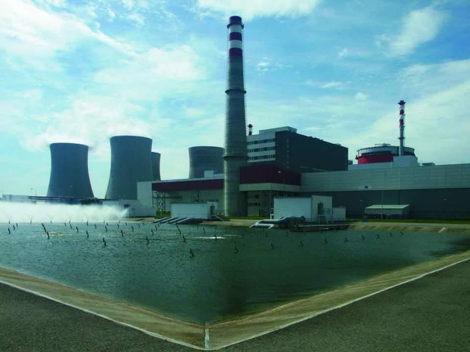 V České republice jsou dvě jaderné elektrárny, u obou se počítá s výstavbou nových bloků. Foto: CĚZ