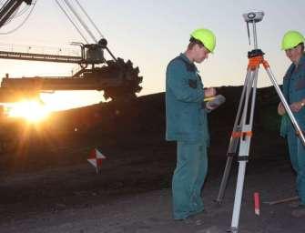 Důlní stroje se bez mapy neobejdou