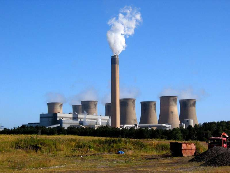 Elektrárna Eggborough: Foto: commons.wikimedia.org