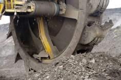 Koleso rypadla KU800 v akci. Foto: Jiří Finfrle