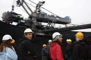 Konečně uhlí, zastávka u KU300. Foto: iUHLI.cz