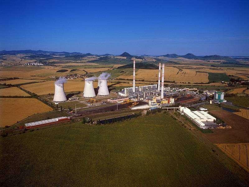 Elektrárna Počerady. Foto: ČEZ