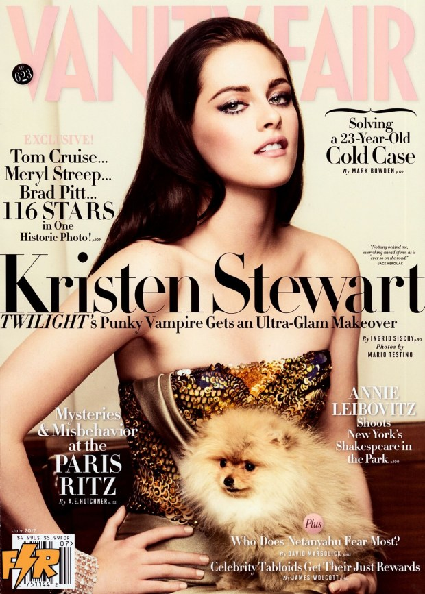 KRISTEN STEWART on Vanity Fair for July 2012 Issue