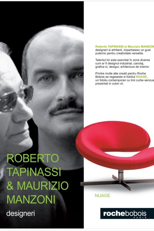 ROBERTO TAPINASSI MAURIZIO MANZONI NUAGE