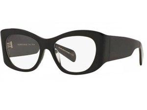 Ochelari de vedere Oliver Peoples cu rama neagra, Leonardo Optics