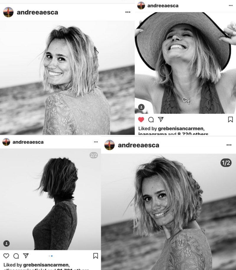 Andreea Esca a publicat o serie de fotografii pe Instagram