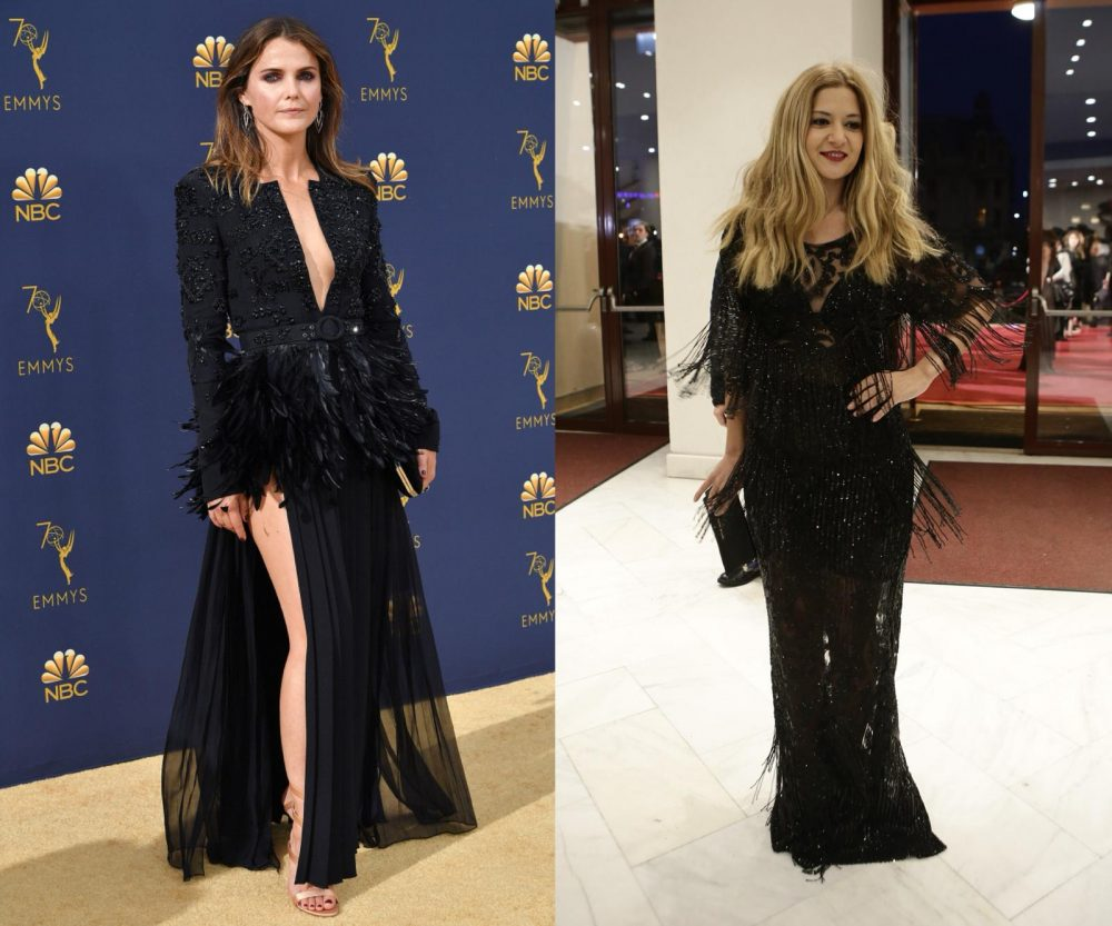 Keri Russell la Premiile Emmy 2018 și Amalia Enache la Premiile Gopo 2018