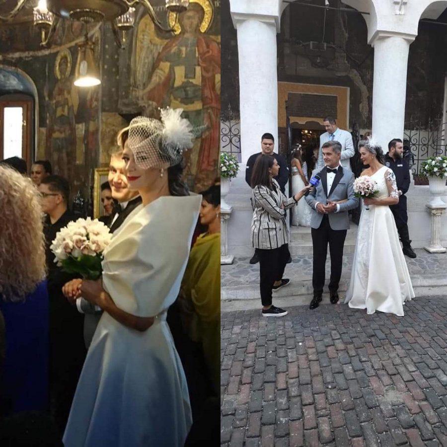 Roxana Ciuhulescu, în rochie de mireasă la a doua nuntă