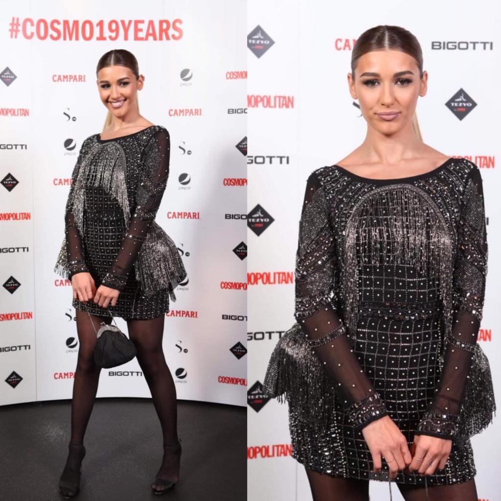 Alina Eremia a participat recent la evenimentul organizat de Cosmopolitan