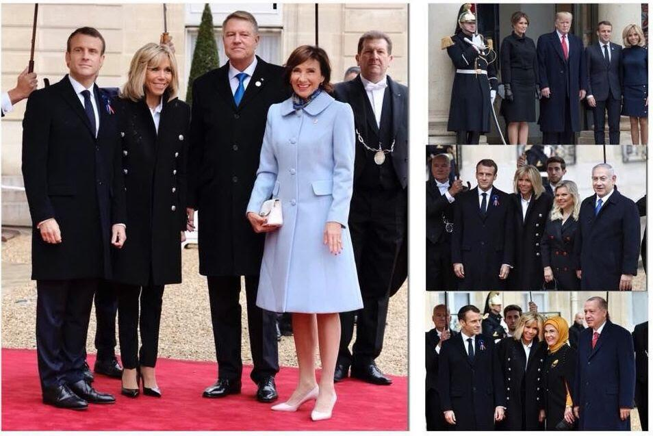 Carmen Iohannis l-a însoțit pe Președinte la Paris