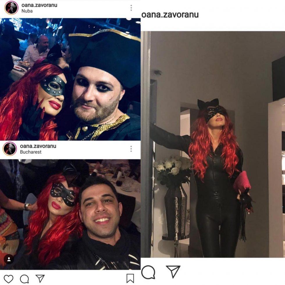 Oana Zăvoranu, de Halloween