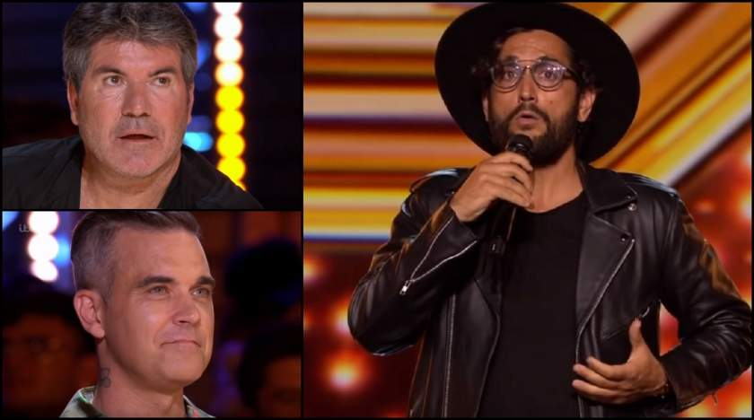 Cezar Ouatu la X-Factor UK, in juriu Simon Cowell si Robbie Williams