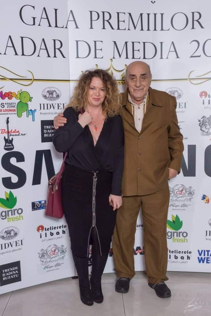 Oana și Viorel Lis, la Gala Premiilor Radar de Media 2018