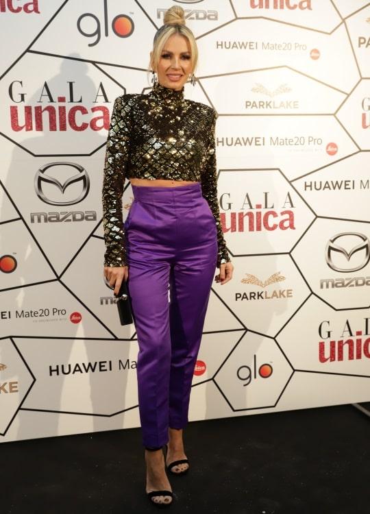 Andreea Bănică, la evenimentul Unica