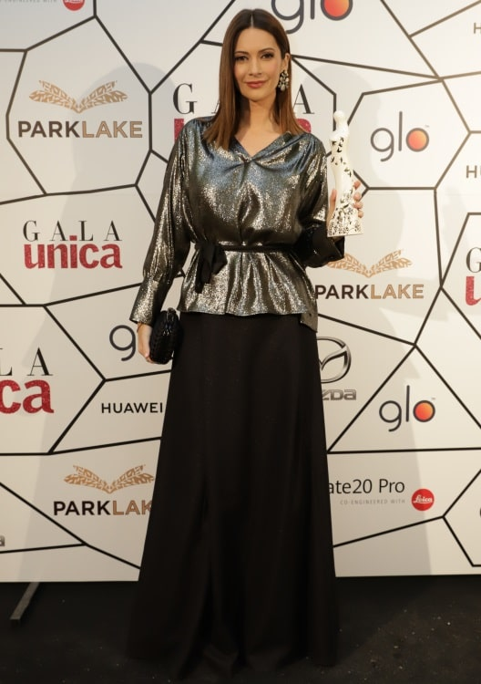 Andreea Berecleanu, la gala Unica