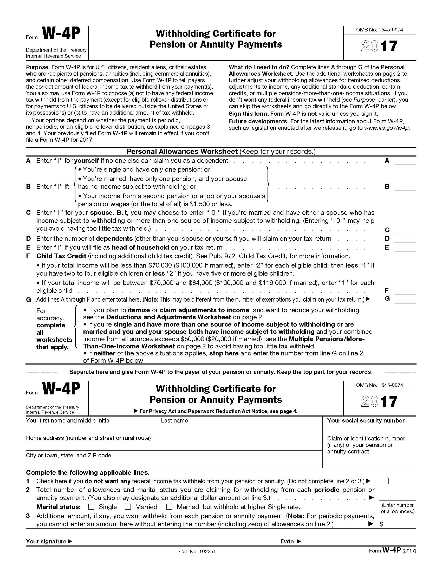 Blank Itemized Deductions Worksheet