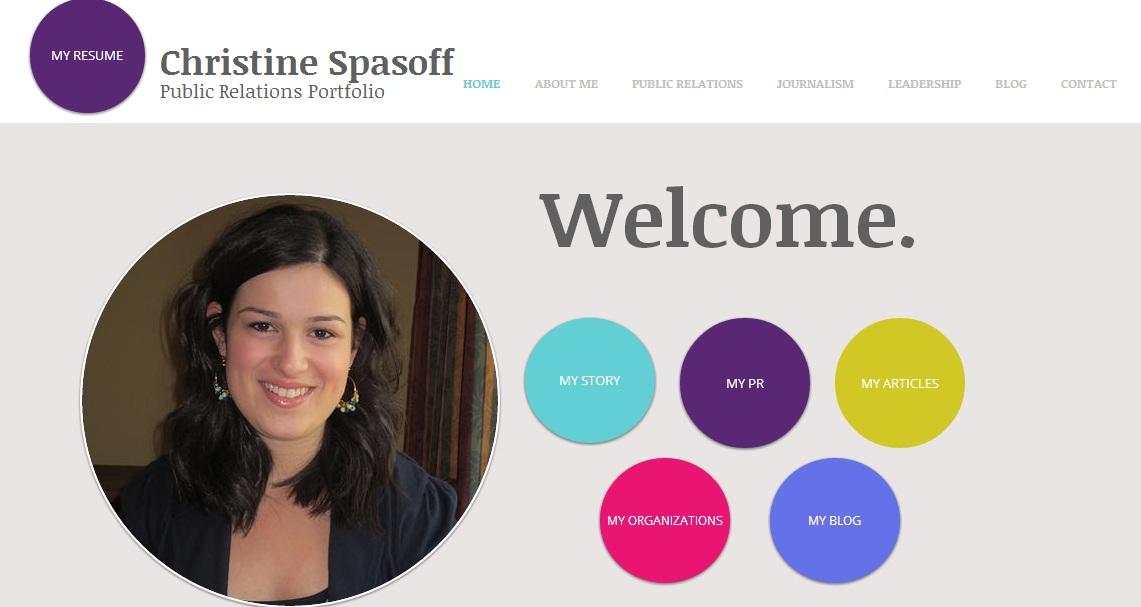 Online resume portfolio examples
